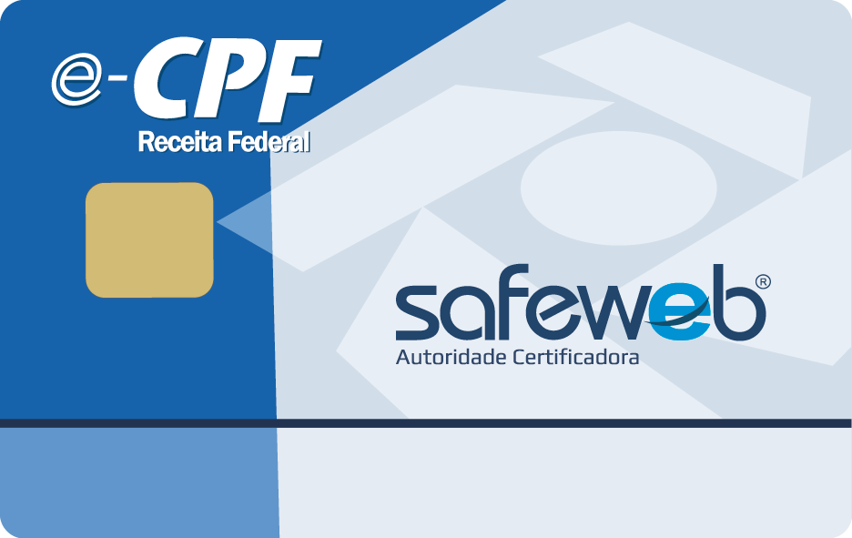 Safeweb Certificado Digital, e-CPF, Certificado Digital